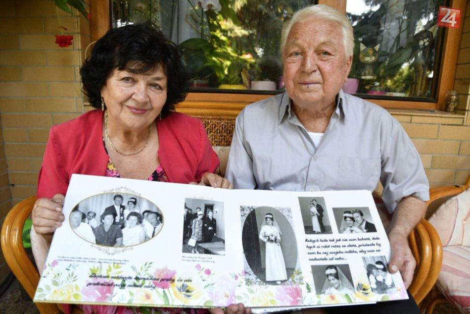 91a09e63e73 Ilustračný obrázok k článku VIDEO  Eva a Jozef z Hlohovca sa zobrali pred  50 rokmi